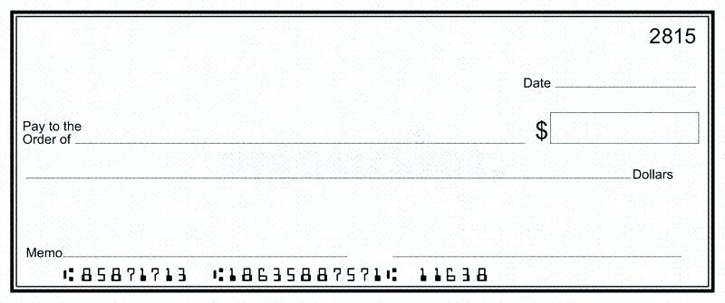 free bank checks template word pdf