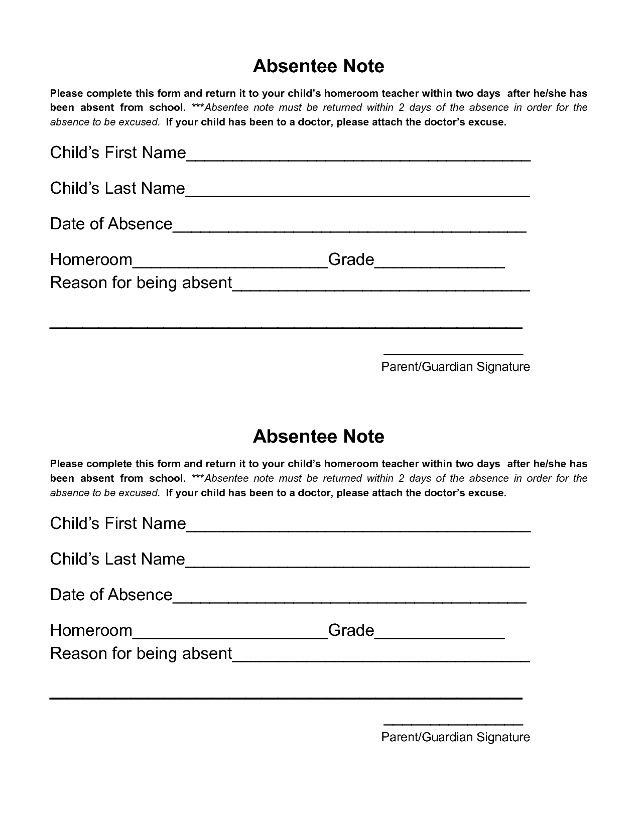 33+ Fake Doctors Note Template Download [For Work, School
