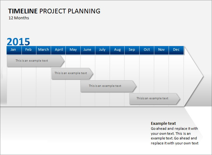 Project Timeline Template gantt chart for work help