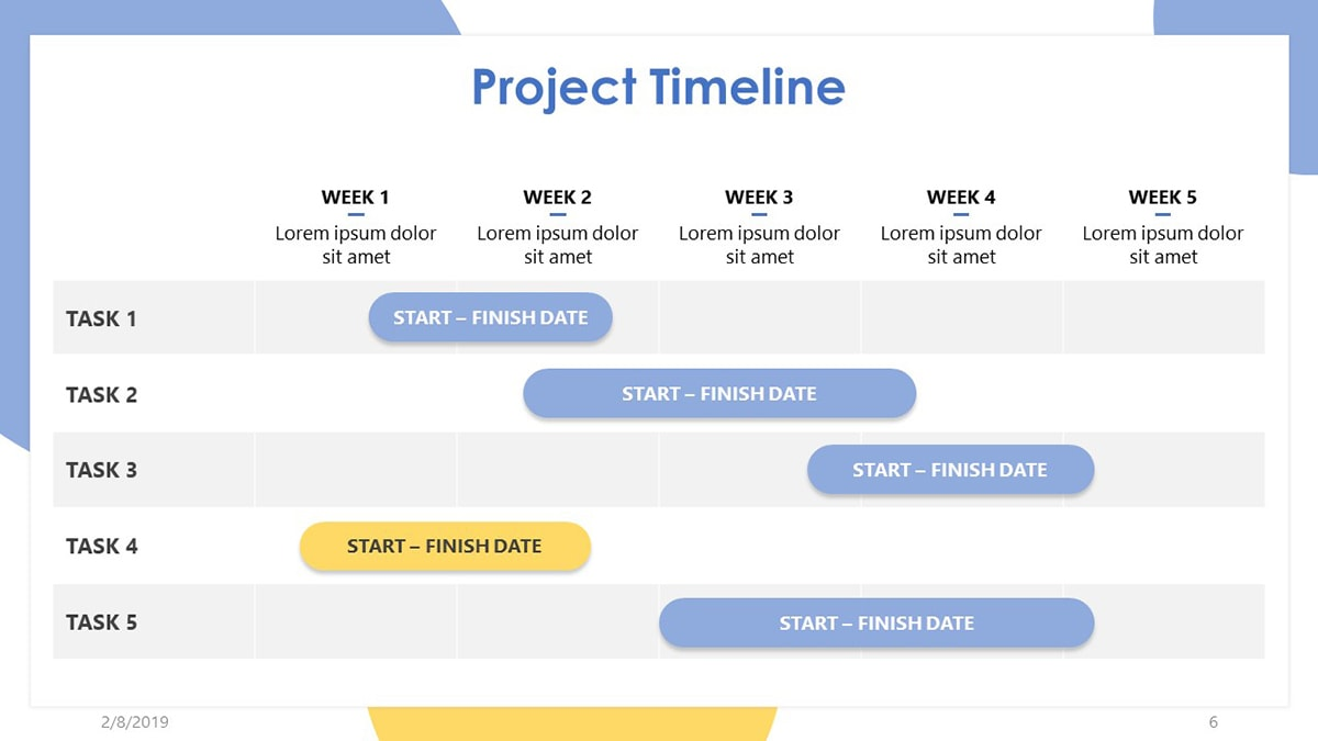 Project Management Timeline Template Excel from www.realiaproject.org