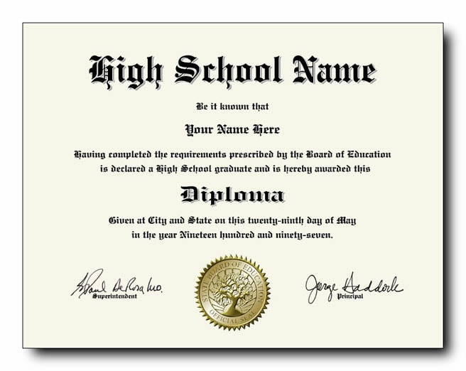 fake diplomas and transcripts with seal and security