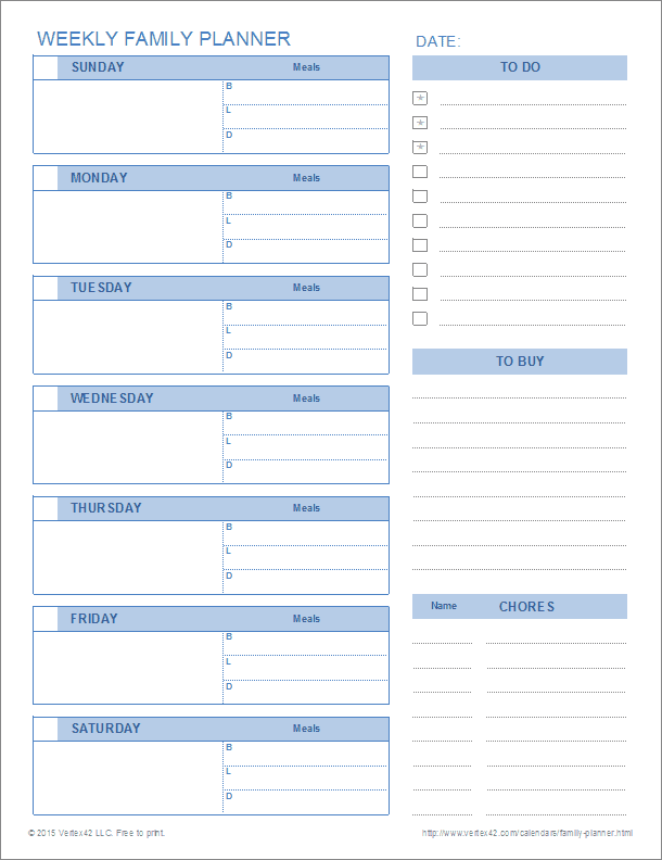 blank monthly events planner template for planning and print