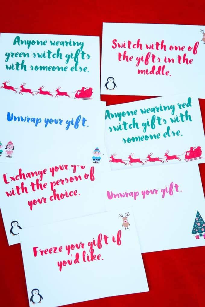 Secret Santa Game Ideas