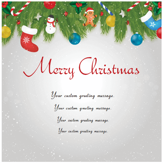 merry Christmas Card free photo holiday greeting