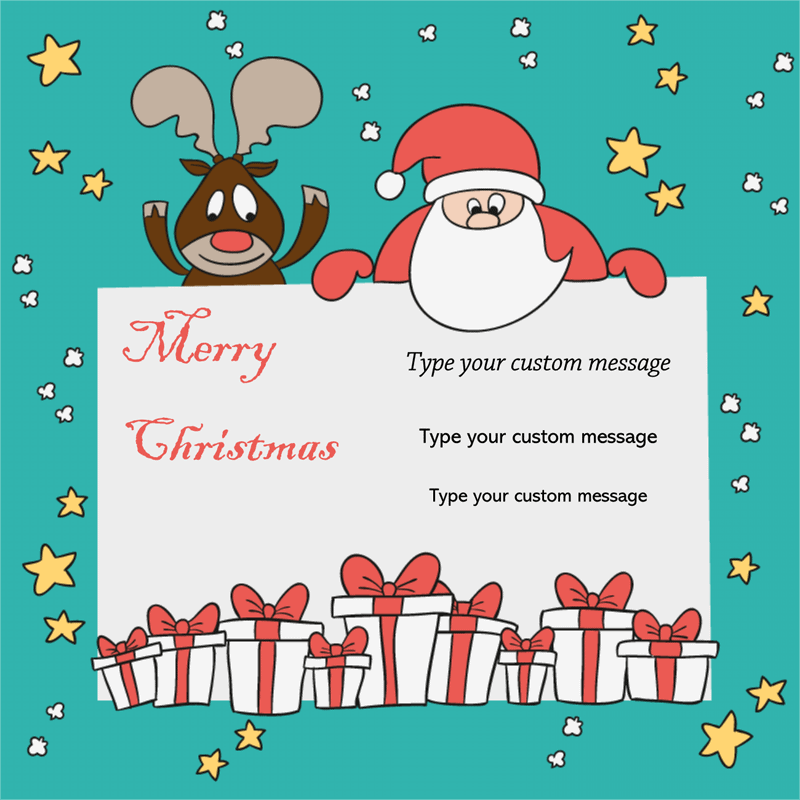 merry Christmas Card free photo greeting