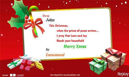 merry Christmas Card free photo