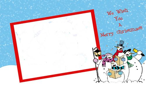 free Christmas Card design