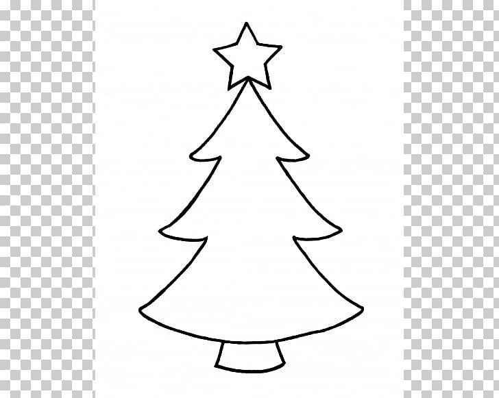 17 Christmas Tree Outline Clipart For Kids Download
