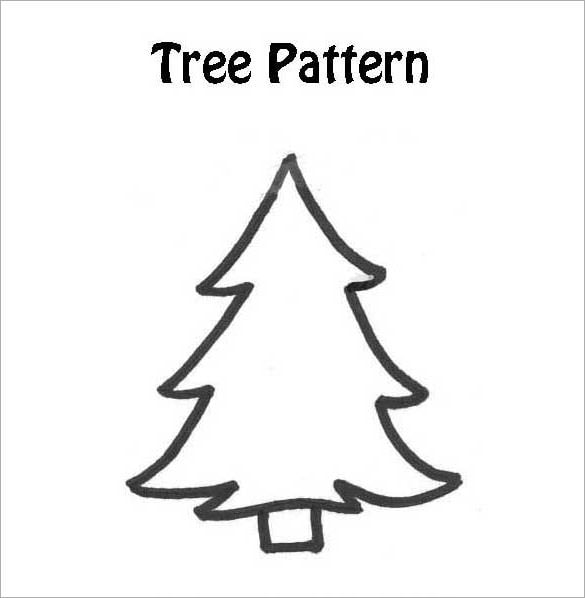 It is an image of Tree Outline Printable throughout tree trunk