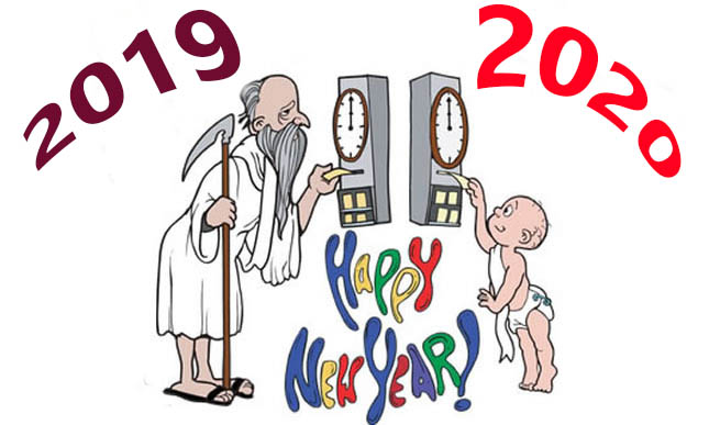 Funny Happy New Year 2020 images