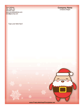Free Letterhead Templates for Holidays