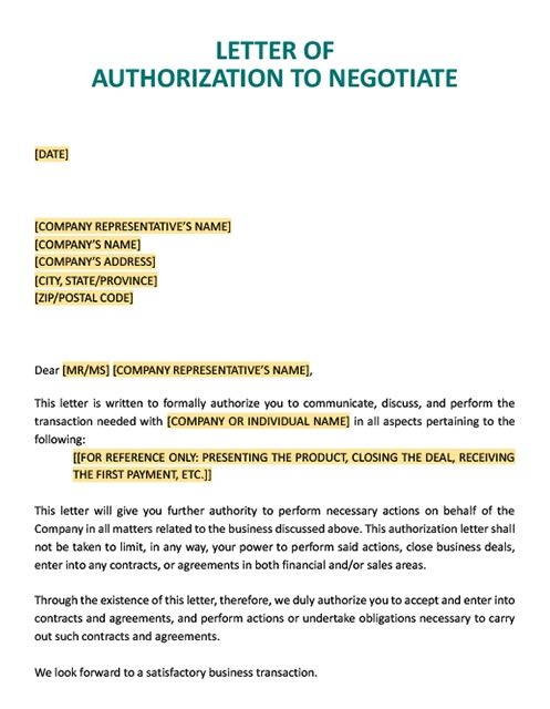 Letter Of Authorization To Collect Documents from www.realiaproject.org