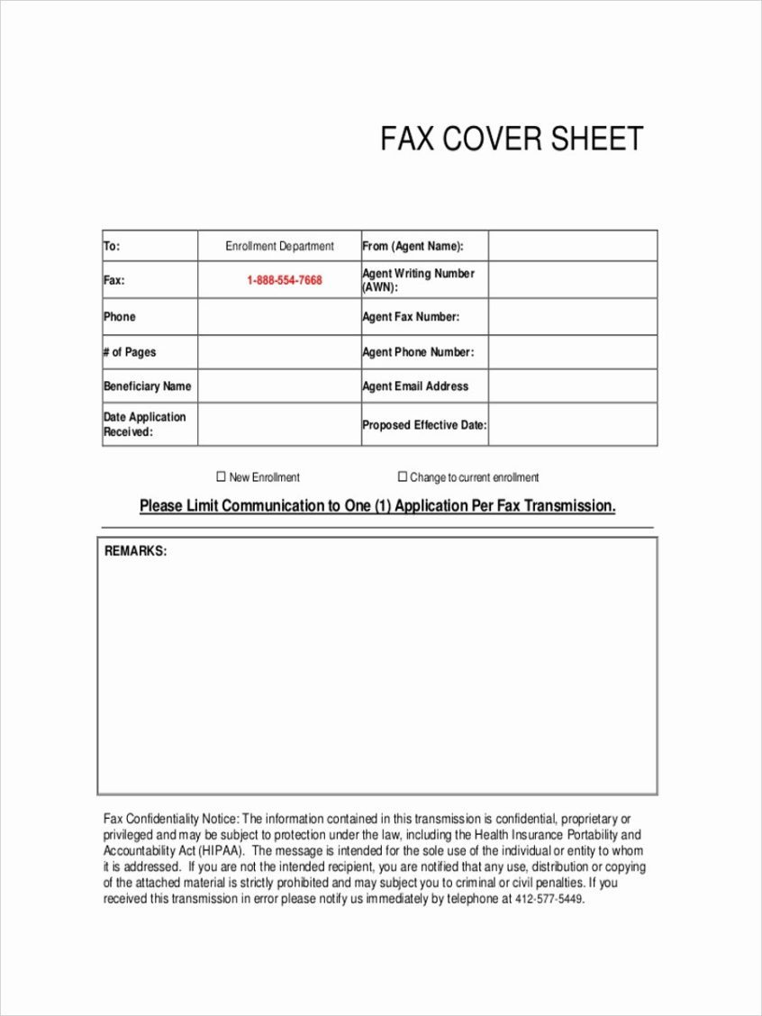 company fax machine cover sheet download