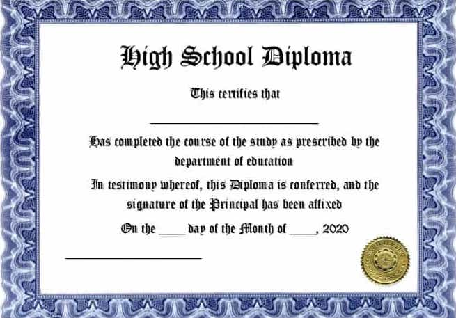 Diploma Template Free from www.realiaproject.org