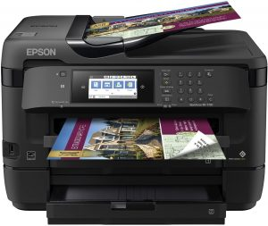 Epson WorkForce WF-7720 inkjet printer for artists