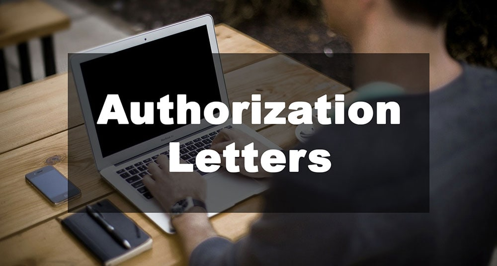 Featured Image: Authorization Letter Examples