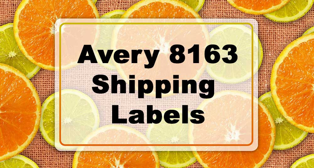 Featured Image: Avery 8163 Label Examples