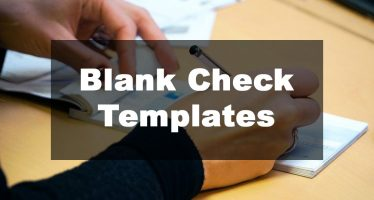 Feature Image: Blank Check Template Examples
