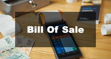 Feautred Image: Bill Of Sale Examples
