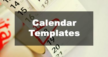 Featured Image: Calendar Template Examples