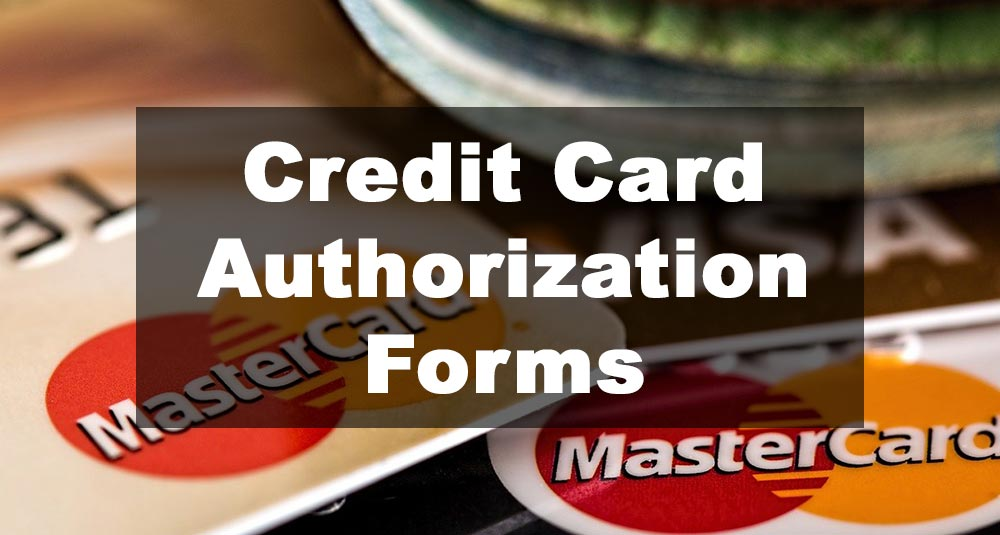 Featured Image: Credit Card Authorization Form Examples
