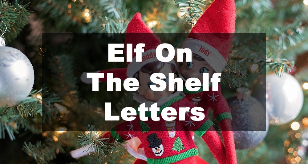 Featured Image: Elf On The Shelf Letter Examples