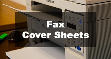 Featured Image: Fax Cover Sheet Examples