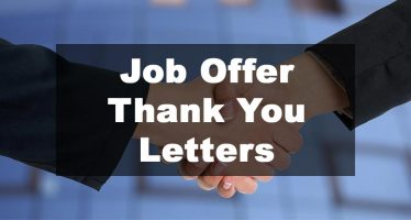 Featured Image: Job Offer Thank You Letter Examples