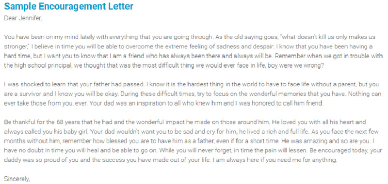 Letter to a friend feeling down