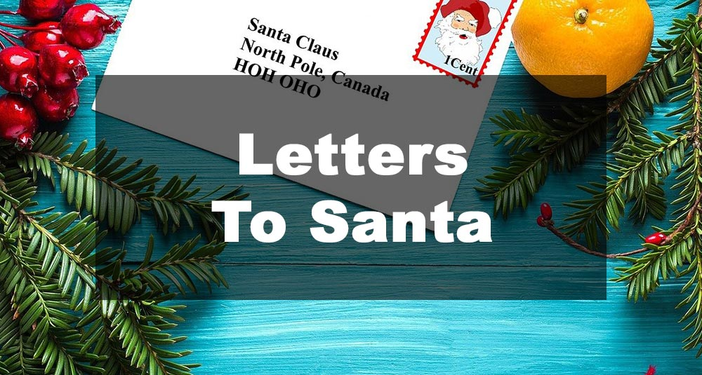 Featured Image: Letter To Santa Examples