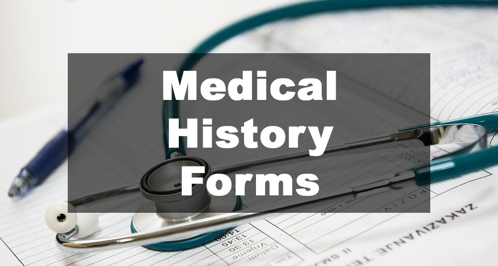 Featured Image: Medical History Form Examples