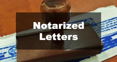Featured Image: Notarized Letter Examples