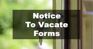 Featured Image: Notice To Vacate Form Examples