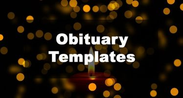 Feature Image: Obituary Template Examples