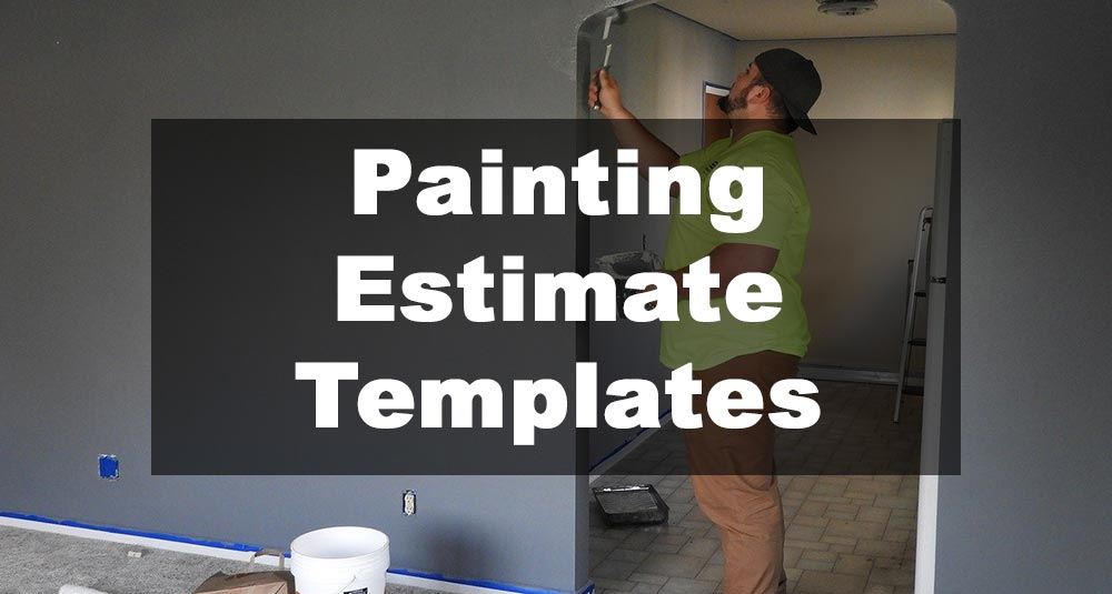 Featured Image: Painting Estimate Template Examples