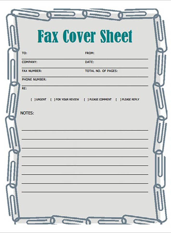 Personal sheet example 3
