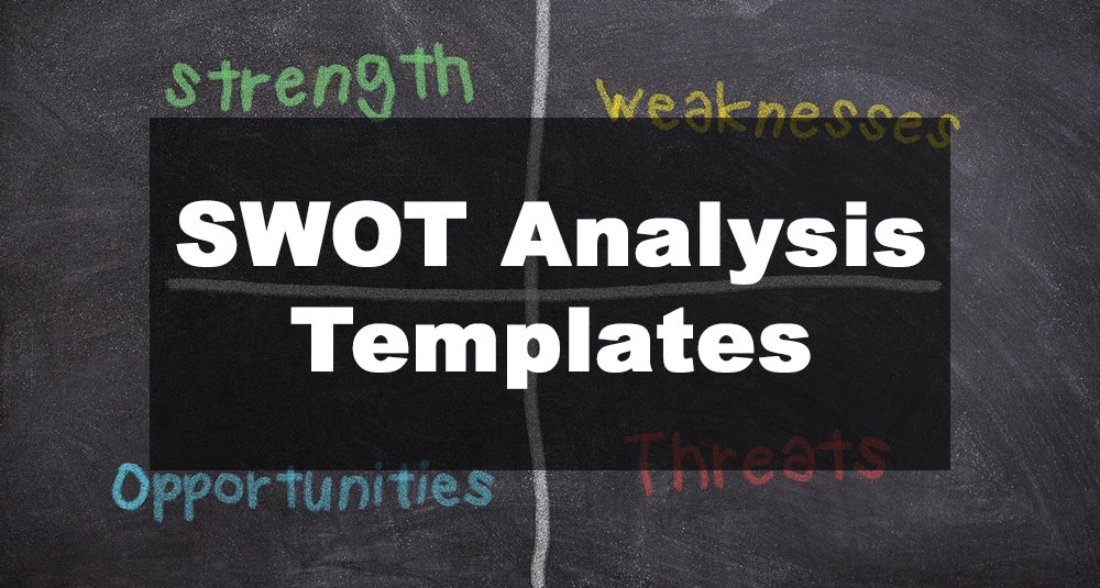 Featured Image: SWOT Analysis Template Examples