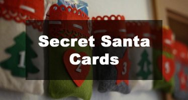 Featured Image: Secret Santa Card Examples