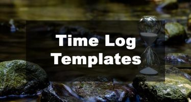 Feature Image: Time Log Template Examples