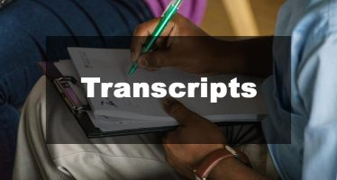 Featured Image: Transcript Examples