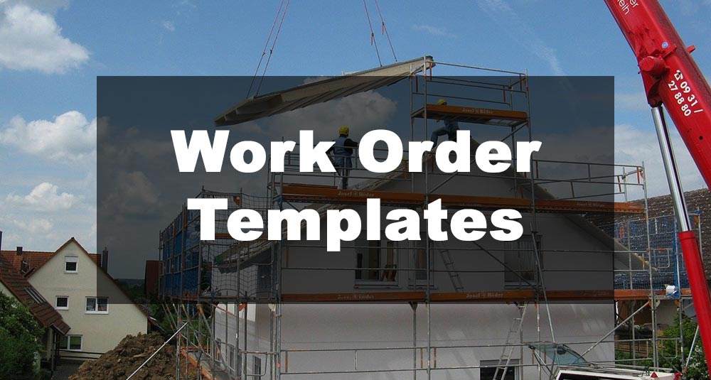 Feature Image: Work Order Template Examples