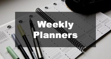 Featured Image: Weekly Planner Examples